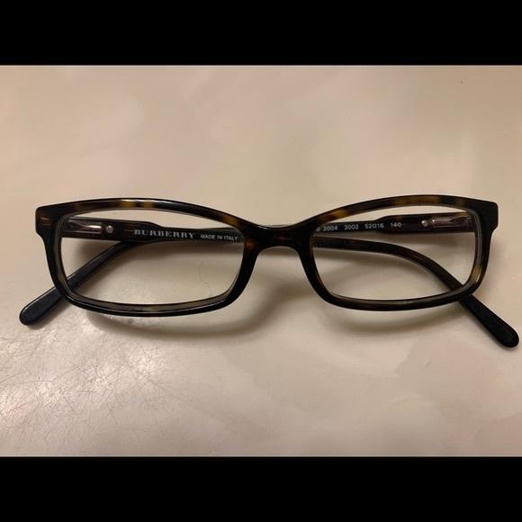 Burberry Eyeglasses B 2004 3002 Tortoise